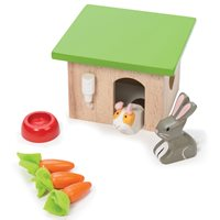 Le Toy Van Dolls House Bunny & Guinea Pig Set