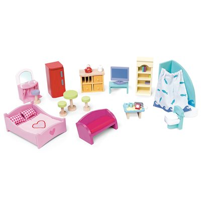 LE TOY VAN DOLLS HOUSE FURNITURE PACK