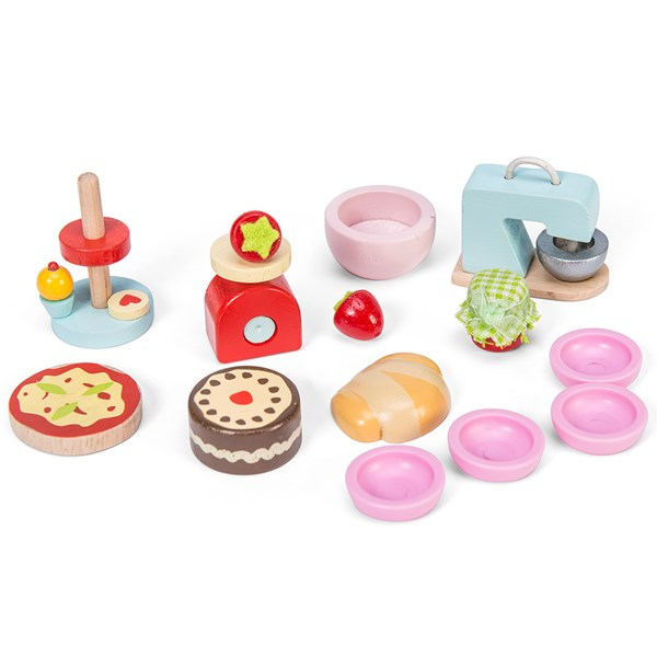 Le Toy Van Dolls House Make and Bake Accessories Set