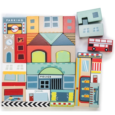 Le Toy Van Timber Town Building Blocks