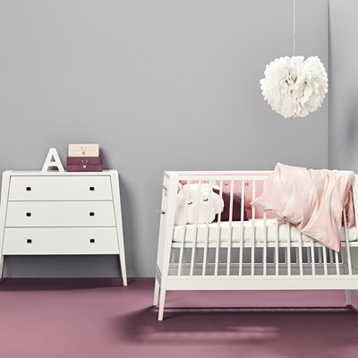 LINEA BABY COT in White
