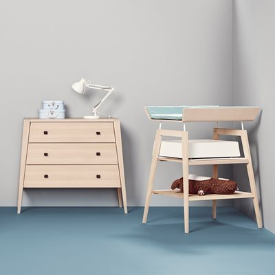 LINEA 3 DRAWER DRESSER in Beech
