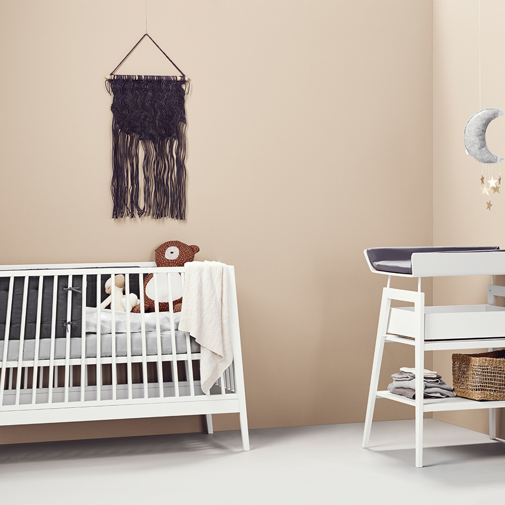 Linea Bedroom Furniture Linea Nursery Babys 3 Piece Furniture Set In White Cots Cot Bed