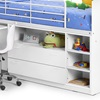 Lovely Mid Sleeper Cabin Bed and Storage for Kids