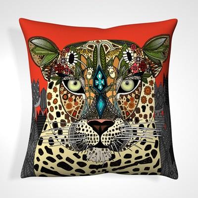 CUSHION in Tribal Leopard Design