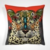 Patterned Pillows with Animal Design