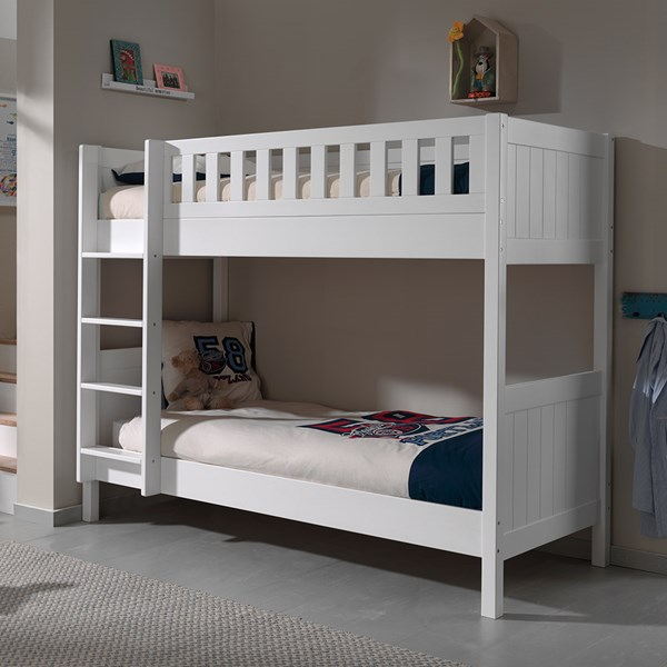 Lewis Kids Bunk Bed in White