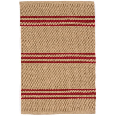 INDOOR OUTDOOR LEXINGTON RUG in Camel Red