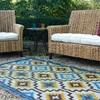 Fab Habitat Indoor Outdoor Rug for Garden