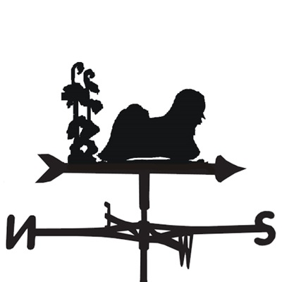 WEATHERVANE in Lhaso Apso Design