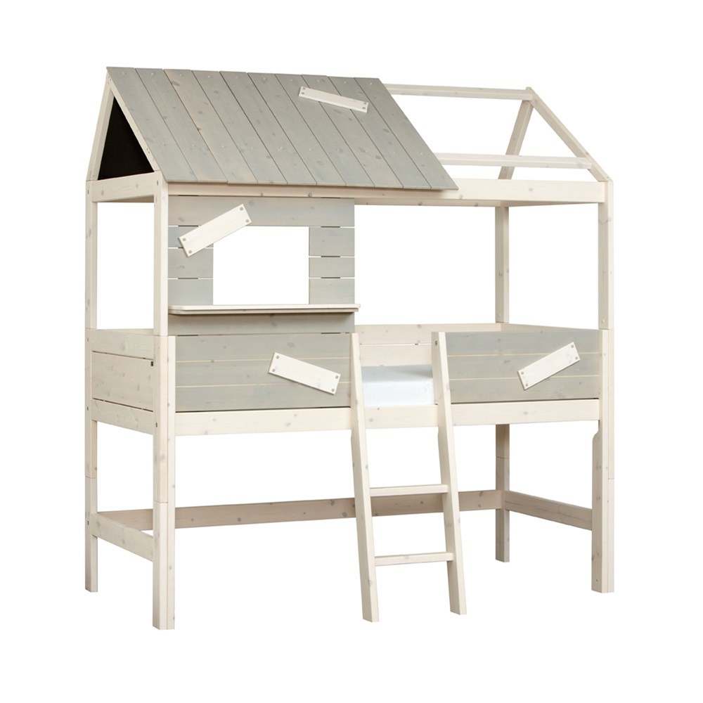 Limited edition life house kids cabin bed with step ladder for Frame house bed