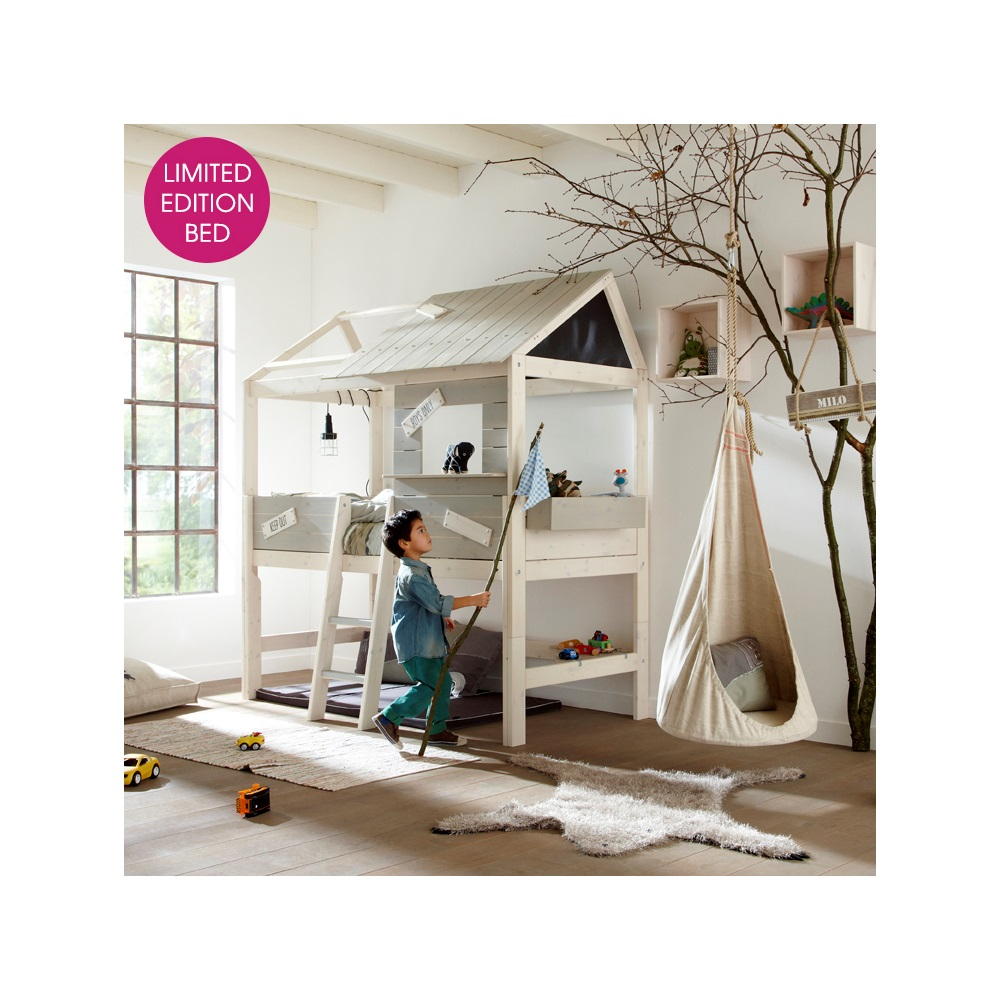Limited edition mid sleeper kids cabin bed kids beds cuckooland Xinlan home furniture limited