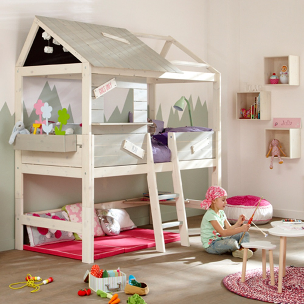 Limited Edition Mid Sleeper Kids Cabin Bed - Kids Beds ...