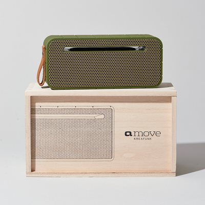 aMOVE BLUETOOTH SPEAKER in Army Green