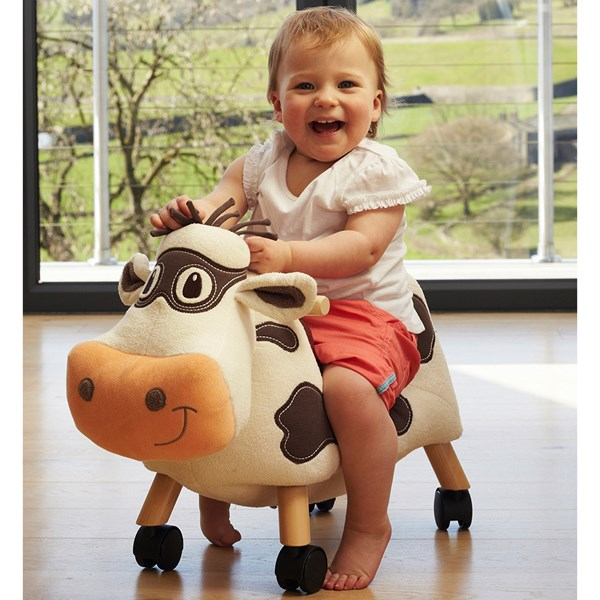 Moobert the Cow Ride On Toddler Toy
