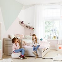 LIFETIME KIDS DAY BED With Trundle Bed and Drawer