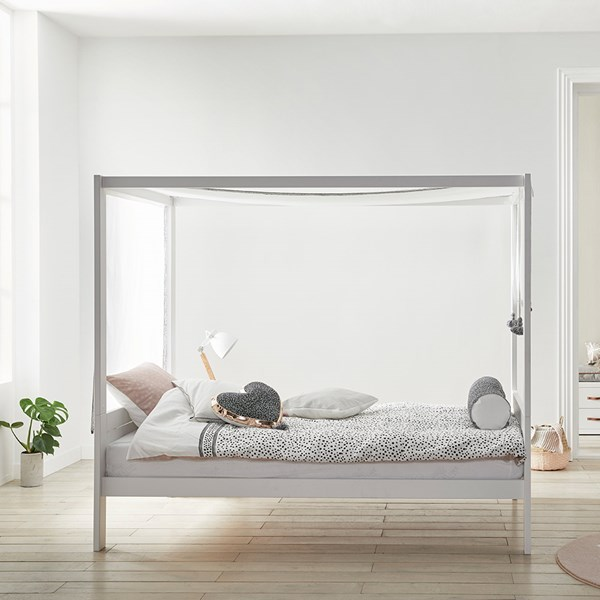 Lifetime City Chic Four Poster Canopy Bed