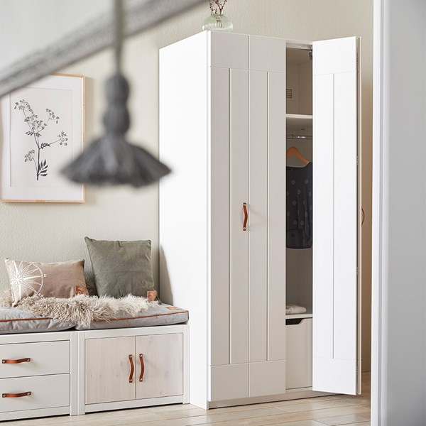 Lifetime Double Wardrobe with Folding Doors