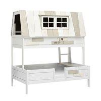 Product photograph showing Lifetime Adventure Hangout Double Bed - Lifetime White