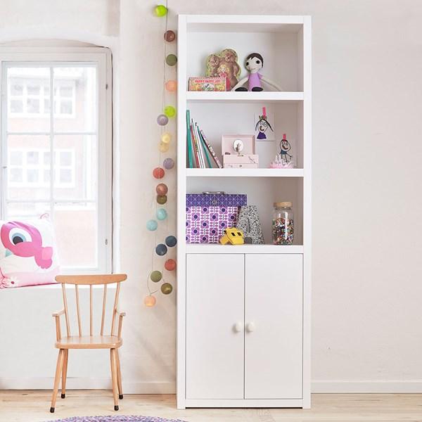 Lifetime Bookcase in White