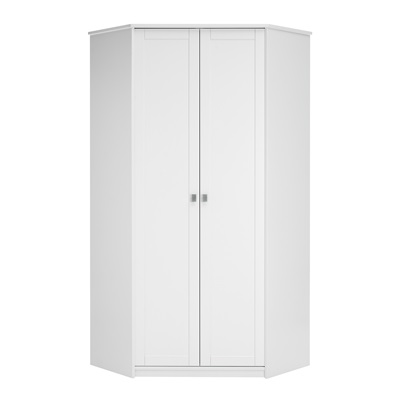 KIDS CORNER WARDROBE in White with Storage