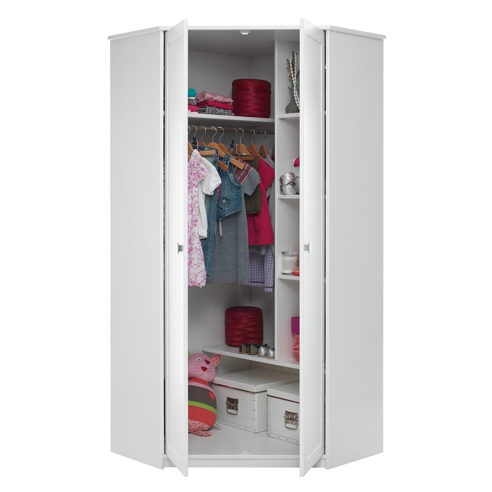 Kids corner wardrobe with storage kids furniture for Eckschr nke