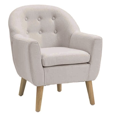 Star Kids Tub Armchair In Grey Kids Chairs Amp Sofas