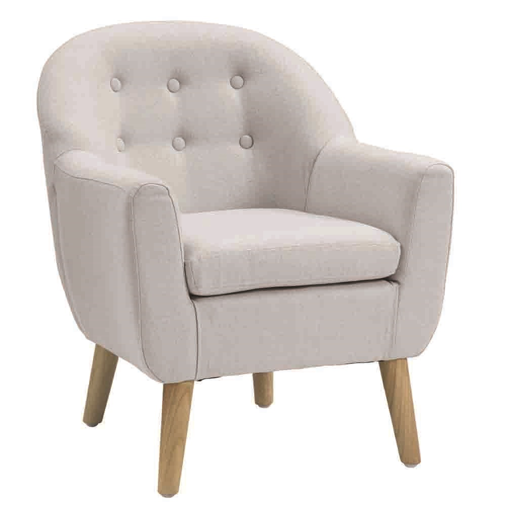 star kids tub armchair in grey kids concept cuckooland