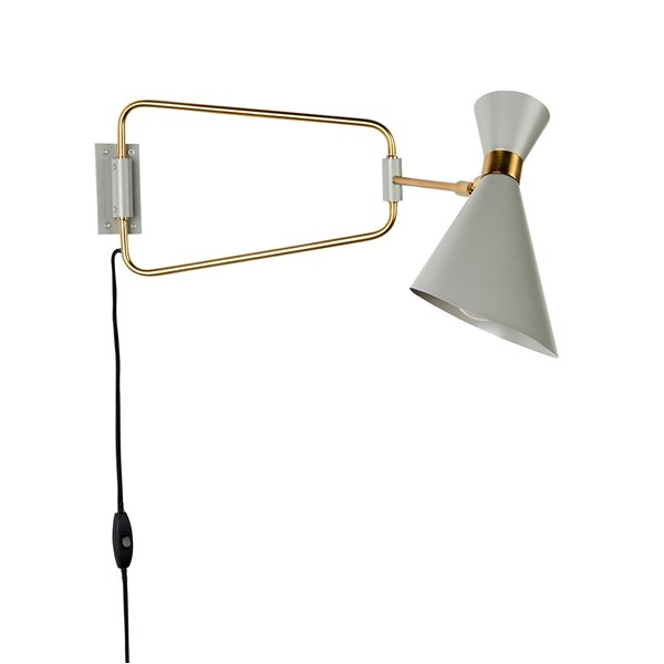 Zuiver Shady Wall Light in Grey