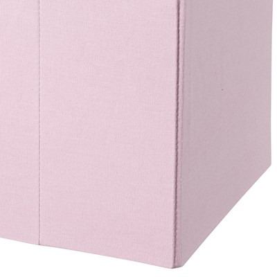Exceptionnel ... Light Pink Cube Storage Box Detail ...
