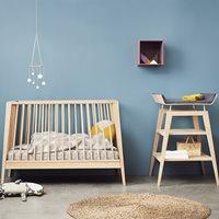 LINEA NURSERY & BABYS 3 PIECE FURNITURE SET in Solid Oak