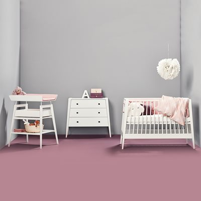 LINEA NURSERY & BABY'S 3 PIECE FURNITURE SET in White