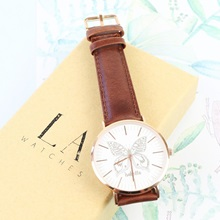 Lisa-Angel-Personalised-Ladies-Butterfly-Watch-Rose-Gold-Rim-Brown-Leather-Strap.jpg
