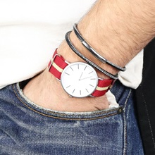Lisa-Angel-Personalised-Mens-Watch-White-Face-Red-Fabric-Strap.jpg