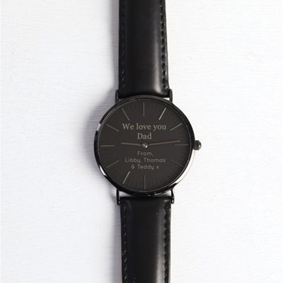 PERSONALISED WE LOVE YOU DAD WATCH by Lisa Angel