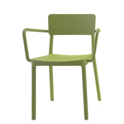 LISBOA RESIN ARMCHAIR in Olive