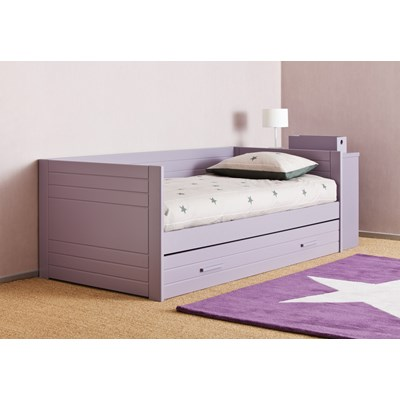 Day Beds With Drawers Kids Liso Bed With Trundle Drawer Childrens Beds Lacey White Storage