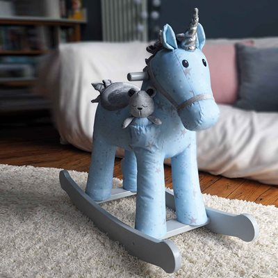 Moonbeam & Rae Unicorn Rocking Horse 12+ Months