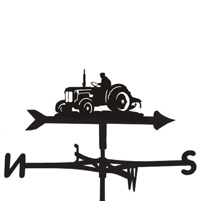 WEATHERVANE in Little Blue Tractor Design