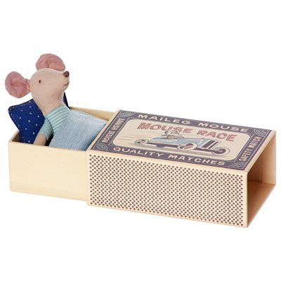 Little Brother Mouse in a Matchbox by Maileg