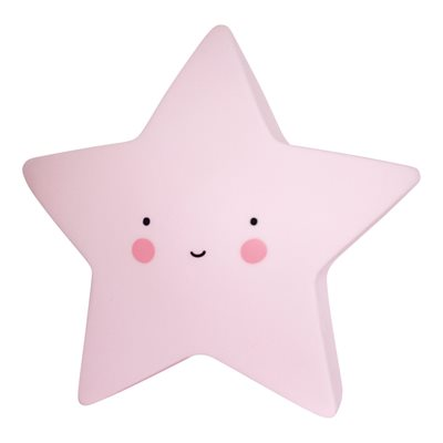 MINI PINK STAR NIGHT LIGHT