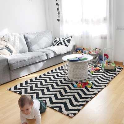LORENA CANALS ZIG-ZAG WASHABLE KIDS RUG