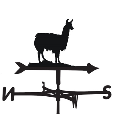 WEATHERVANE in Llama Design