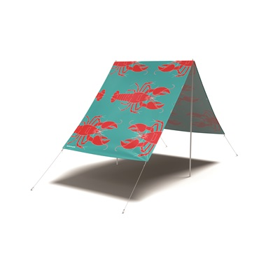 FIELDCANDY ROCK LOBSTER SUN SHADE in Red and Blue