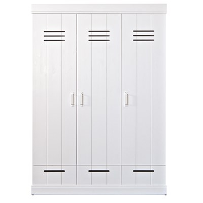 Connect 3 Door Locker Cabinet - Kids Desks, Drawers & Wardrobes | Cuck