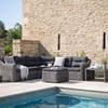 Lodsworth Corner Sofa Set in Rattan