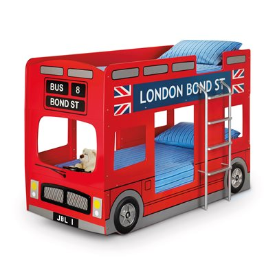 LONDON BUS KIDS BUNK BED by Julian Bowen