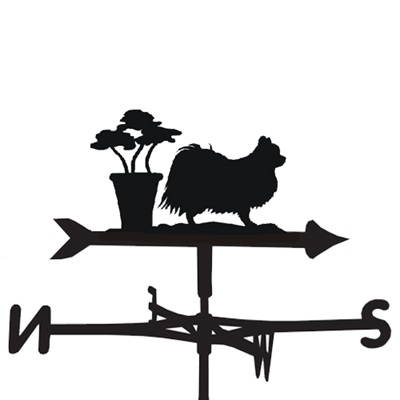 WEATHERVANE in Long Coat Chihuahua Design