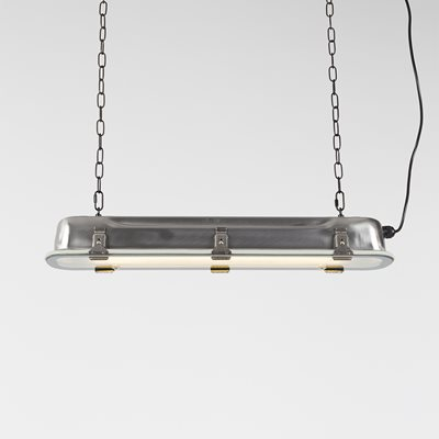 ZUIVER INDUSTRIAL LONG HANGING PENDANT LIGHT in Nickel