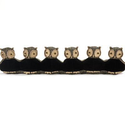 LORD OLIVER OWL FAMILY DRAUGHT EXCLUDER